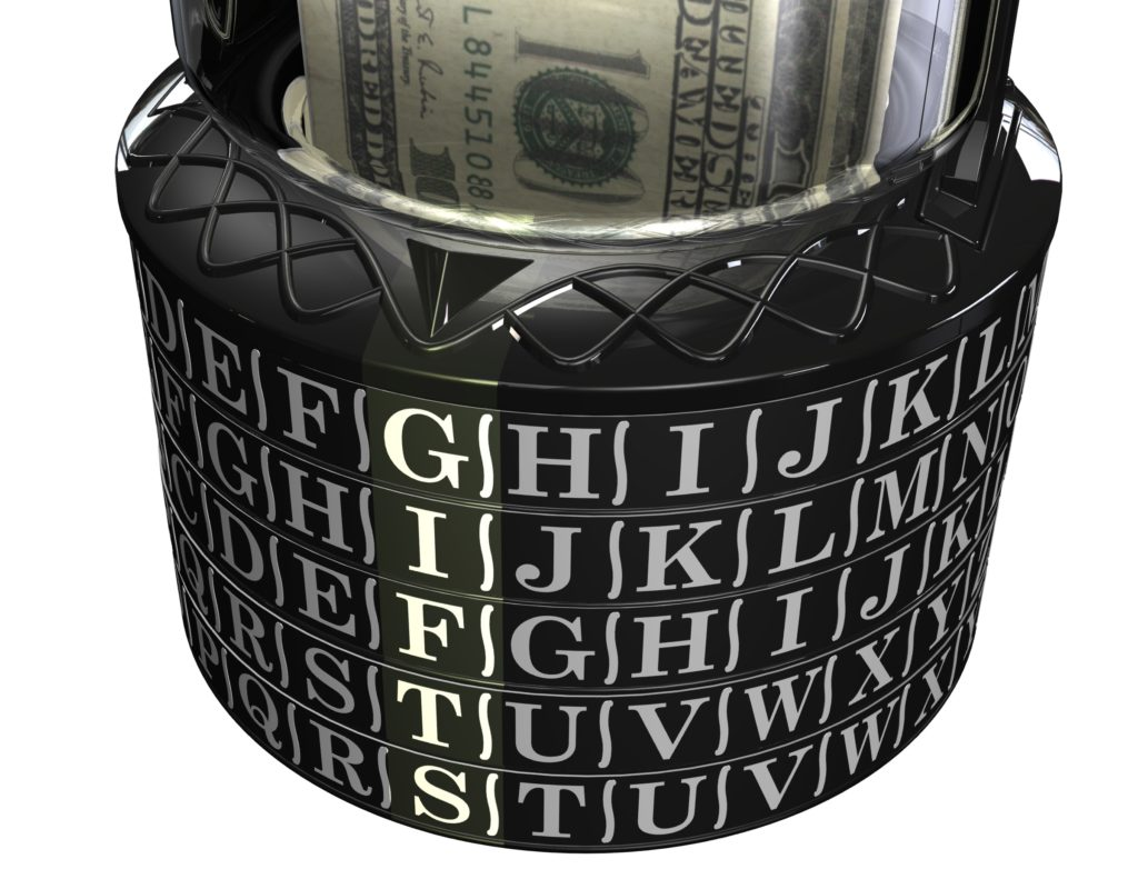 gift puzzle, Puzzle Pod Cryptex Tumblers Code