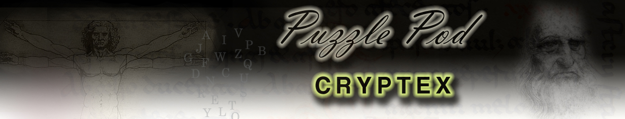 Puzzle Pod Gift Cryptex